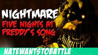 getlinkyoutube.com-NateWantsToBattle: Nightmare [FNaF LYRIC VIDEO] FNaF Song