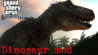 getlinkyoutube.com-GTA san :Dinosaur mod ล่าไดโนเสาร์ใน GTA