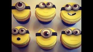 getlinkyoutube.com-Minion Cupcake Toppers