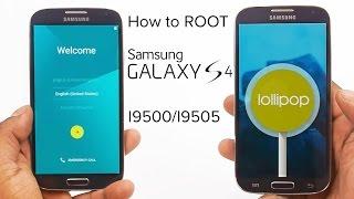 getlinkyoutube.com-How to root Galaxy S4 (I9500/I9505) running Lollipop 5.0.1