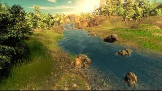 getlinkyoutube.com-Forest stream - Speed level design [Unity 5]