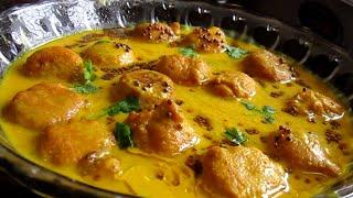 getlinkyoutube.com-tasty KADHI PAKORA recipe