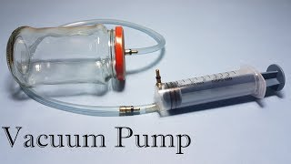 getlinkyoutube.com-How to Make Vacuum Pump and Vacuum Chamber