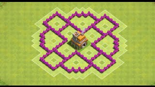getlinkyoutube.com-Clash Of Clans - The Whirlwind (Awesome TH6 Hybrid Base) - New 2015 HD