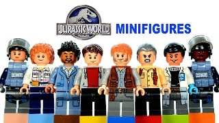 Jurassic World LEGO KnockOff Minifigures Set 2 Review
