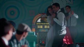 Velvet T2 C6 - Ana y Alberto se ponen a bailar en el Sam's Burguer