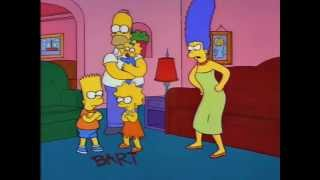 getlinkyoutube.com-The Simpsons: Bart, Lisa, and Maggie's First Word