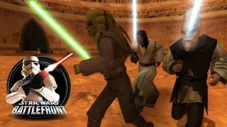 Star Wars Battlefront 1 Mods (PC) HD: Execution at Geonosis: Jedi Army