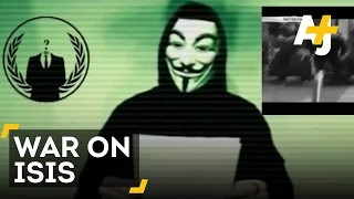getlinkyoutube.com-Anonymous Declares War On ISIS After Paris Attack