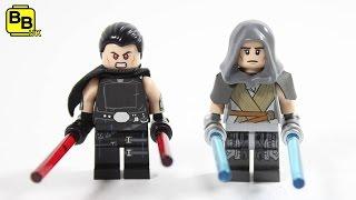 LEGO STAR WARS LEGENDS DARK SIDE & LIGHT SIDE GALEN MAREK MINIFIGURE REVIEW