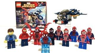 getlinkyoutube.com-【レゴ】スパイダーマン勢揃い!カーネイジ SIELD スカイアタックをレビュー! LEGO MARVEL SUPERHEROES SPIDER-MAN