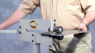 getlinkyoutube.com-Compact Bead Roller for Metal Fabrication (WFBR6)