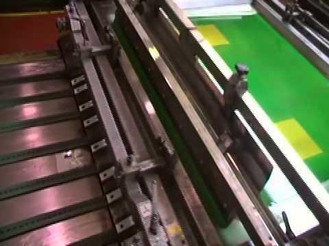 Máquina de Serigrafía industrial