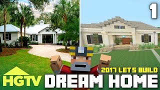 getlinkyoutube.com-Minecraft Xbox One: Let's Build The HGTV Dream Home 2017! (Part 1)