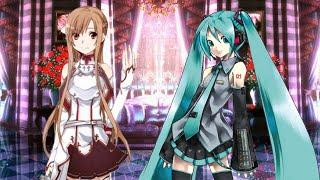 getlinkyoutube.com-刀劍神域亞絲娜大戰初音未來 無限格鬥版 Asuna VS Miku Hatsune for MUGEN アスナ @ 初音ミク