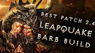 2.4 Barbarian Leapquake Build: Diablo 3 Reaper of Souls