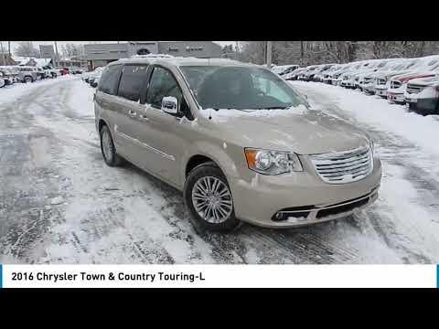 2016 Chrysler Town & Country Delaware, Powell, Dublin, Marion, Columbus, OH GR199626
