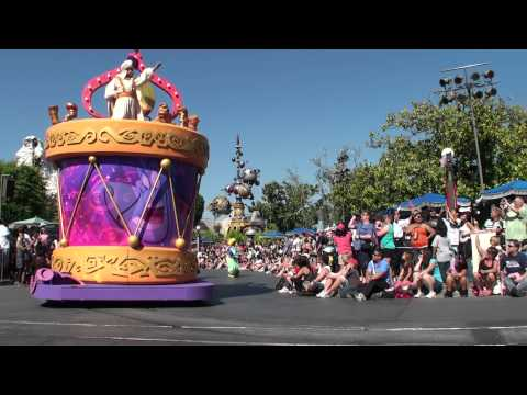 Mickey's Soundsational Parade at Disneyland 5/27/11 Part 1