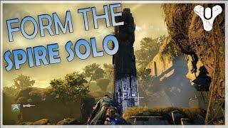 getlinkyoutube.com-Destiny - How to Form The Spire Solo in VoG (Exploit)