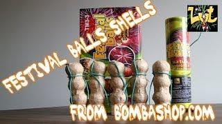 getlinkyoutube.com-Festival Balls TM3-3 Shellkit -Tomaszek Fireworks from Bombashop Poland
