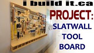 getlinkyoutube.com-Making A Slatwall Tool Board