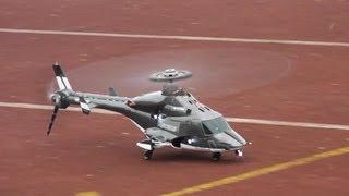 getlinkyoutube.com-RC Airwolf -- Walkera 450BD5 Fast Flight and loops