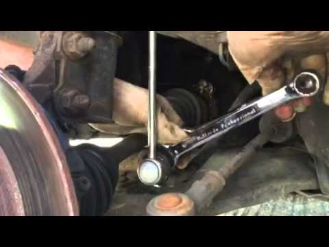 How to change a Drop link and Track rod end