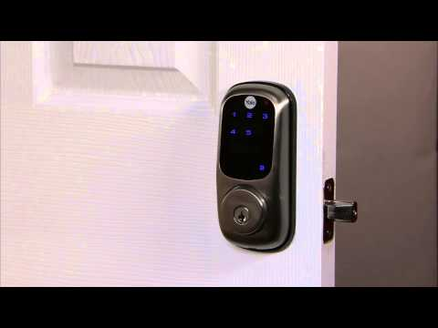 Yale Real Living Touchscreen Deadbolt Programming - Privacy Button 07