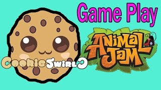 getlinkyoutube.com-Cookieswirlc Animal Jam Online Game Play with Cookie Fans !!!! Random Fun Party Video
