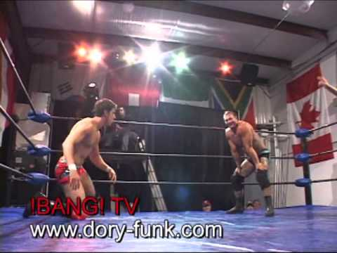International Title Match - Wes Brisco vs Australia's Luke Knight