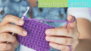 getlinkyoutube.com-Como tejer con gancho ¡aprende ya!  [ Mini serie de Tejido EP 1 ]