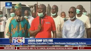 LASG Shuts Down Olusosun Dump Site After Fire Outbreak
