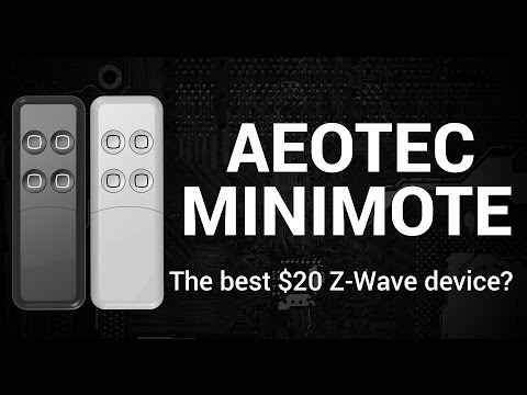 Getting Started with the Aeotec Minimote