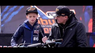 UK Motocross Judd Racing Mx Cup 2016 - Ollie Colmer 65cc Rider Interview