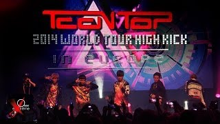 TEEN TOP Live in Paris 2014 au Bataclan - 2014 WORLD TOUR HIGH KICK in Europe