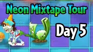 getlinkyoutube.com-Plants vs Zombies 2 - Neon Mixtape Tour Day 5: Celery Stalker and bugs