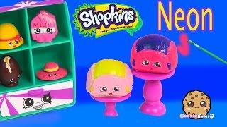 getlinkyoutube.com-Custom Shopkins Season 3 Flappy Cap DIY NEON $1 Dollar Tree Paint - Craft Hat Toy Video Cookieswirlc