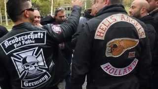 getlinkyoutube.com-Bruderschaft Fist Fighter meets Hells Angels Friendship Tour !