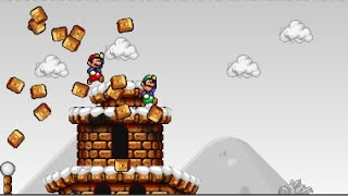 getlinkyoutube.com-Mario Forever Roman Worlds By MrPrzemistrz - World I & Battle Tower
