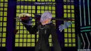 Kingdom Hearts Dissidia   Riku VS Roxas