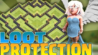 getlinkyoutube.com-Clash of Clans - LOOT PROTECTION | TH8 FARMING BASE | 2015