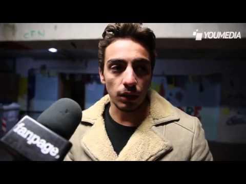 Gianluca Di Gennaro incontro i ragazzi del centro Insieme Scampia
