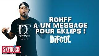 Le passage de Rohff dans la Radio Libre et son message pour Eklips