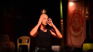 getlinkyoutube.com-Illusionist Kristian Jyoti: Levitation, Yoga, Crystal Ball Contact Juggling & Dance by Jiva