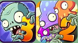 getlinkyoutube.com-Plants Vs Zombies 2 vs Plants Vs Zombies New Gargantuars(Fan Made)