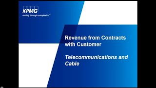 Revenue from Contracts with Customers: Telecommunications and Cable