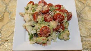 getlinkyoutube.com-Salade facile et rapide ---------- سلطة سهلة و سريعة التحضير