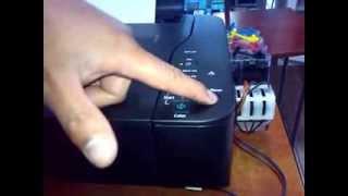 getlinkyoutube.com-Como hacer una Limpieza de cabezales en una canon mp230