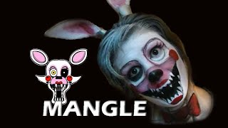 getlinkyoutube.com-Fnaf Mangle - Maquillaje