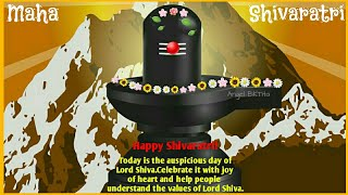 Happy Mahashivratri Greetings | Wishes| SMS| Status| WhatsApp Video| Shivratri Status Song Video|